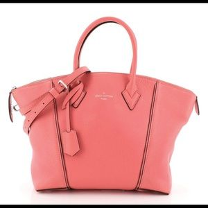 Louis Vuitton Soft Lockit Handbag Leather MM bag